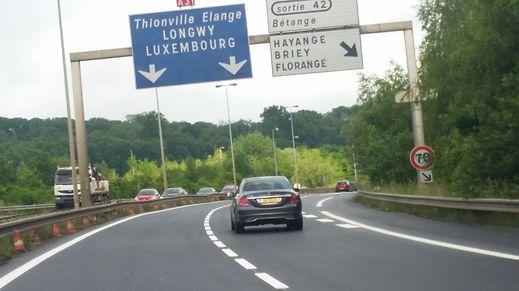 Luxemburger wort gros travaux sur l 39 a31 le chantier for Cdc luxembourg