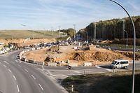 La fin des travaux au rond-point Irrgarten est programmée pour fin décembre