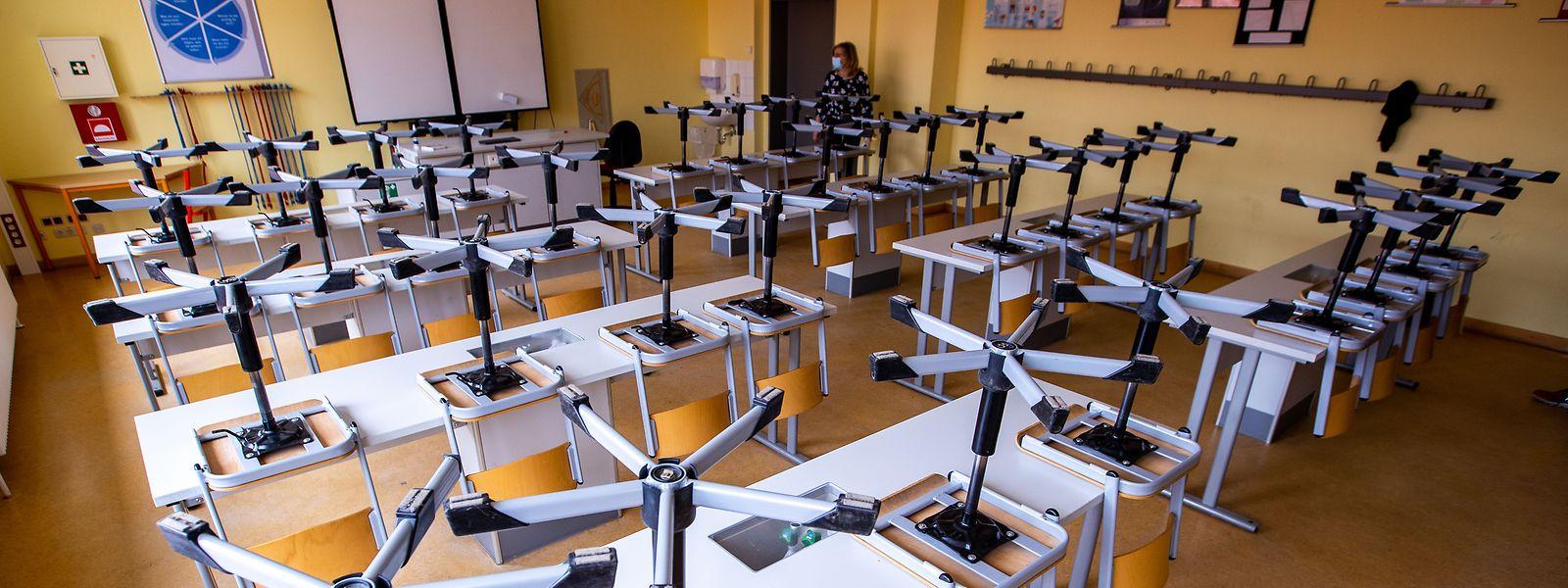 Du fondamental au centre de compétences, une centaine de classes ont à nouveau été concernées par l'épidémie.