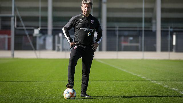 Jeff Saibene ( Cheftrainer Ingolstadt FC ) - Foto: Pierre Matgé/Luxemburger Wort