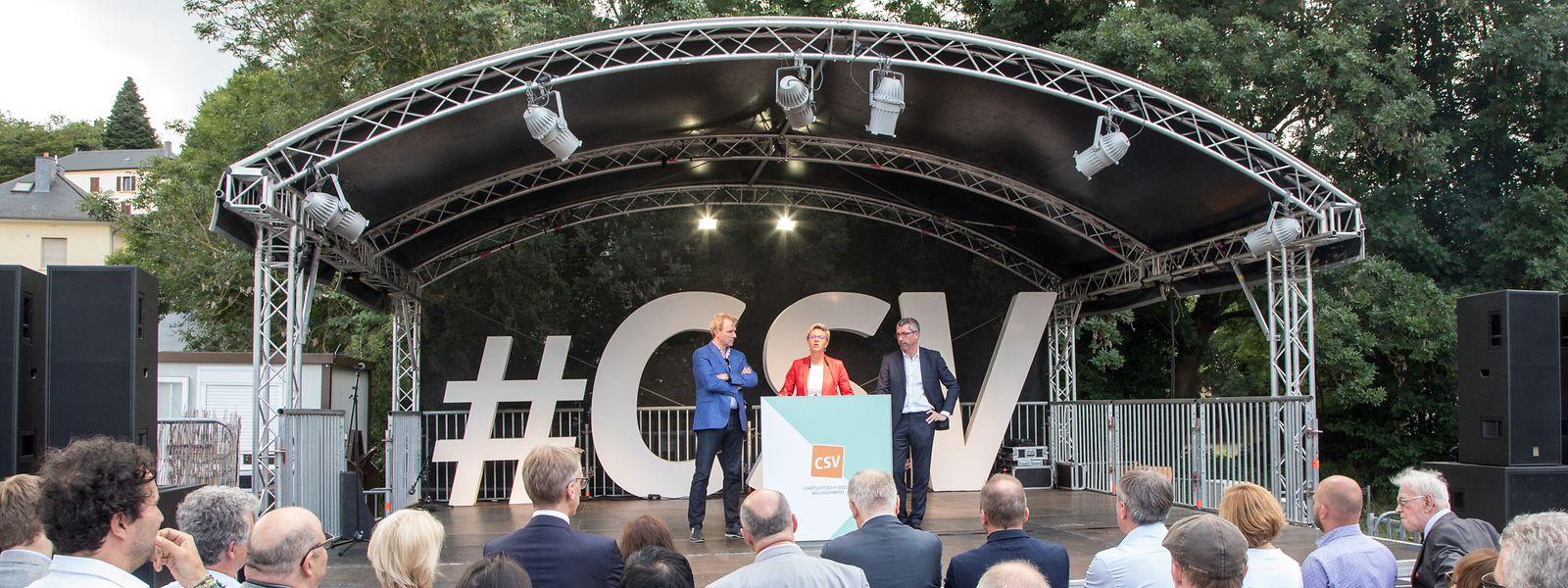 Das CSV-Sommerfest in Hesperingen.