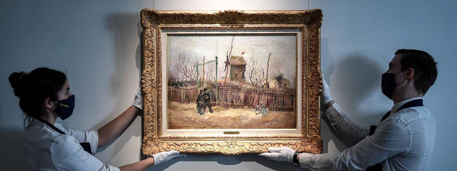 Un siècle après son acquisition par une riche famille française, la toile est mise aux enchères.
