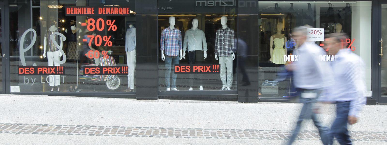 De mars à août 2020, 89 commerces ont dû cesser leur activité au Luxembourg