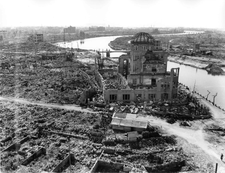 Au coeur d'Hiroshima, un seul bâtiment a résisté au souffle de l'explosion du 4 août. Il est toujours debout aujourd'hui.