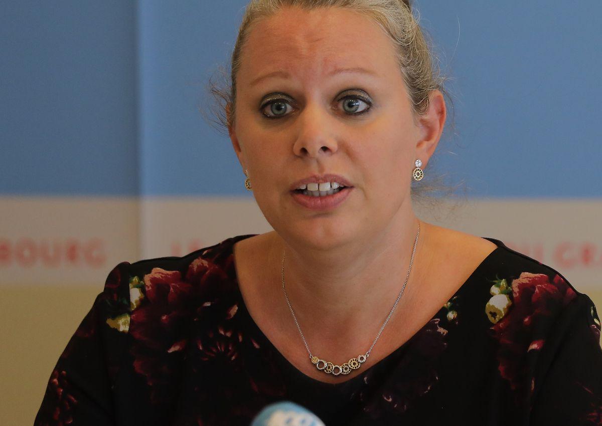 """""""Wir sind gut unterwegs; dennoch müssen wir unsere Anstrengungen steigern"""", betont Klimaministerin Carole Dieschbourg."""