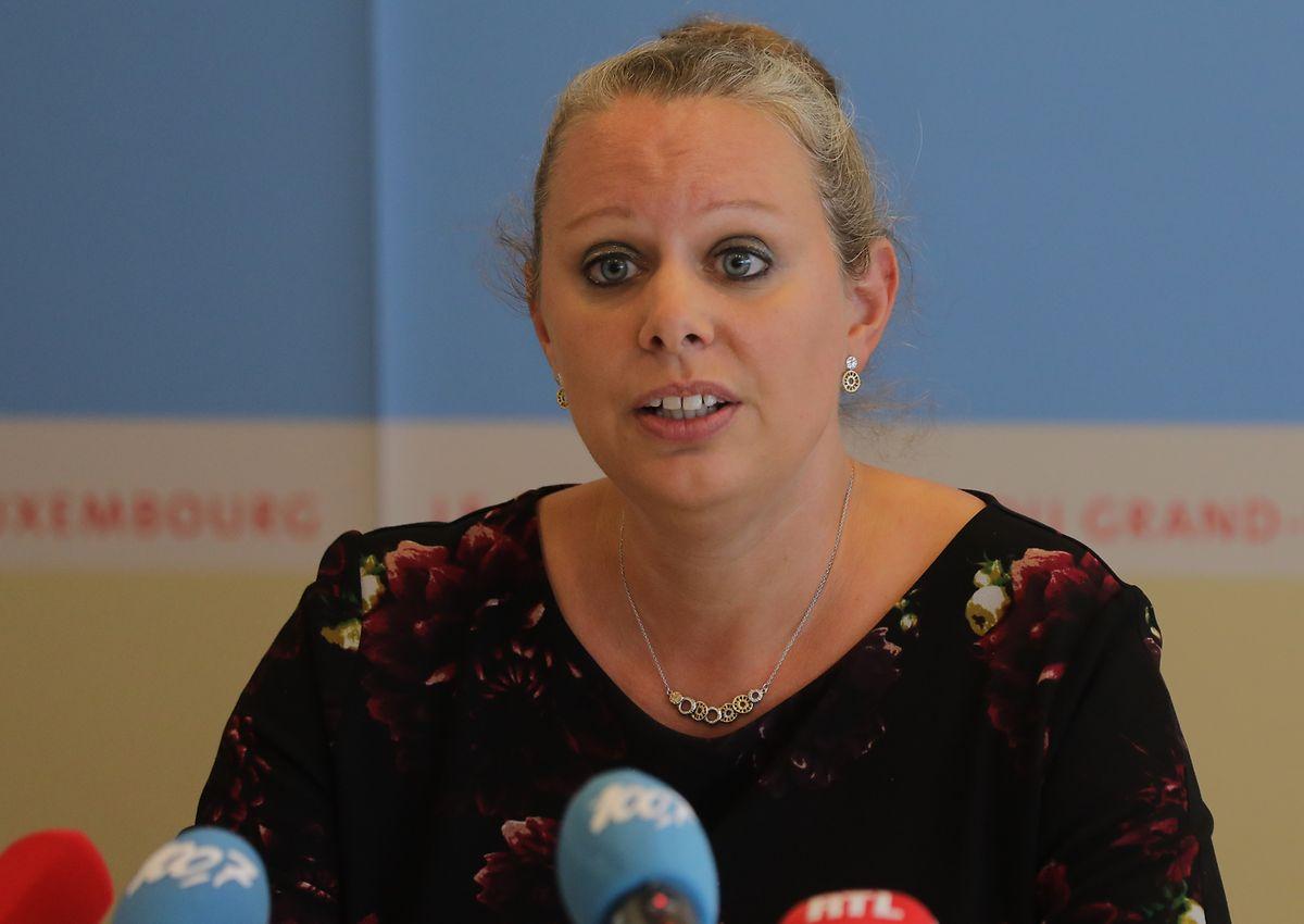 """Ministerin Carole Dieschbourg schiebt in der Causa """"Moulin Dieschbourg"""" jede politische Verantwortung von sich."""