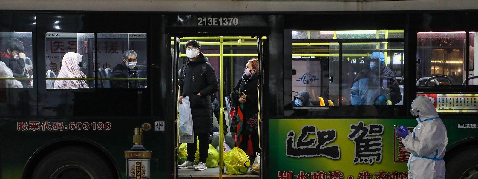 Die chinesische Region um die Stadt Wuhan ist von dem Corona-Virus besonders betroffen.