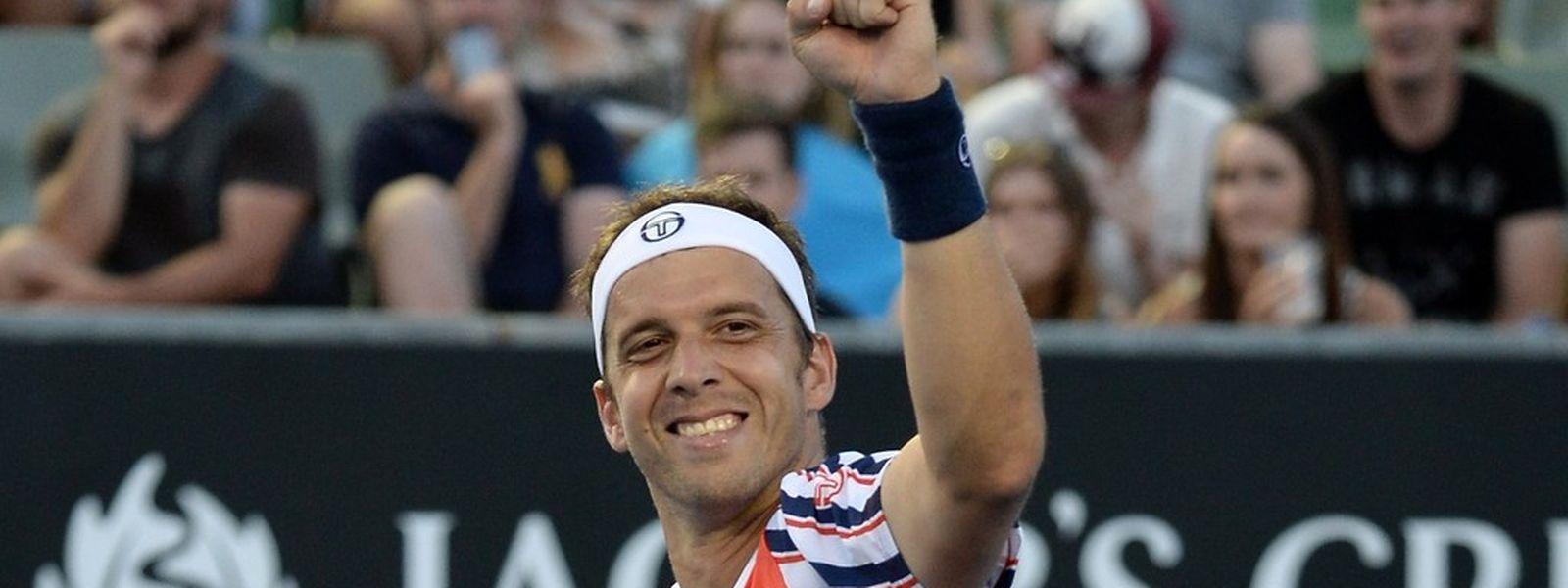 Le poing serré, Gilles Muller vole vers la victoire et vers... Novak Djokovic en 8e de finale