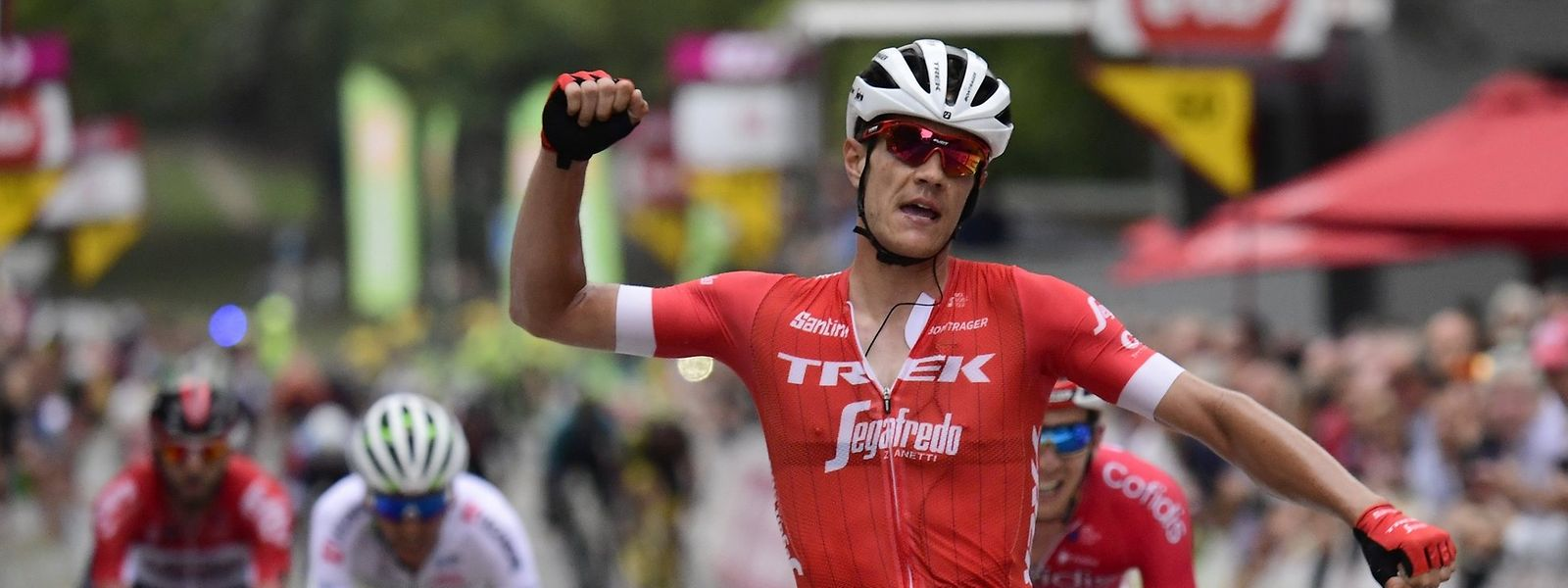 Jasper Stuyven a fait parler sa puissance pour inscrire son nom au palmarès du GP de Wallonie.