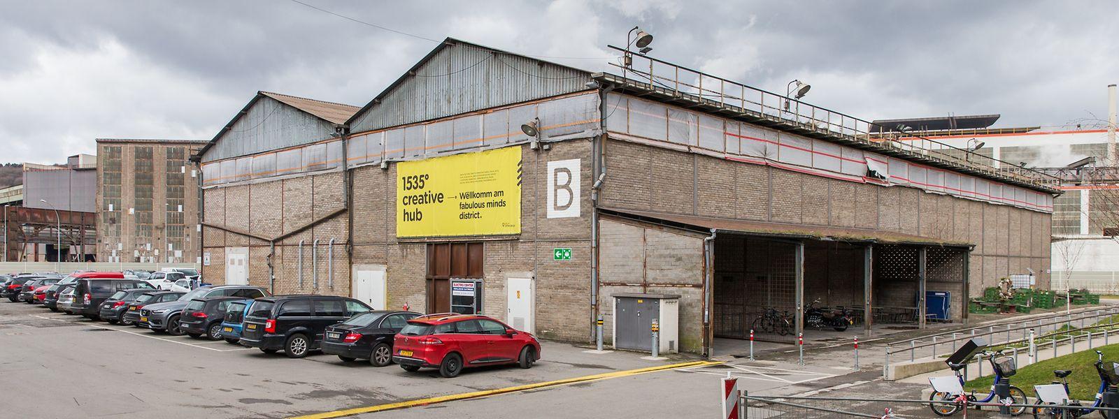 Die Halle B ist die letzte, die noch am Standort der Kreativfabrik 1535° in Differdingen zur Verfügung steht.
