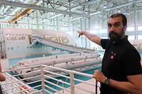 Im Aviation Center in Dubai wird das Bordpersonal von Emirates geschult.