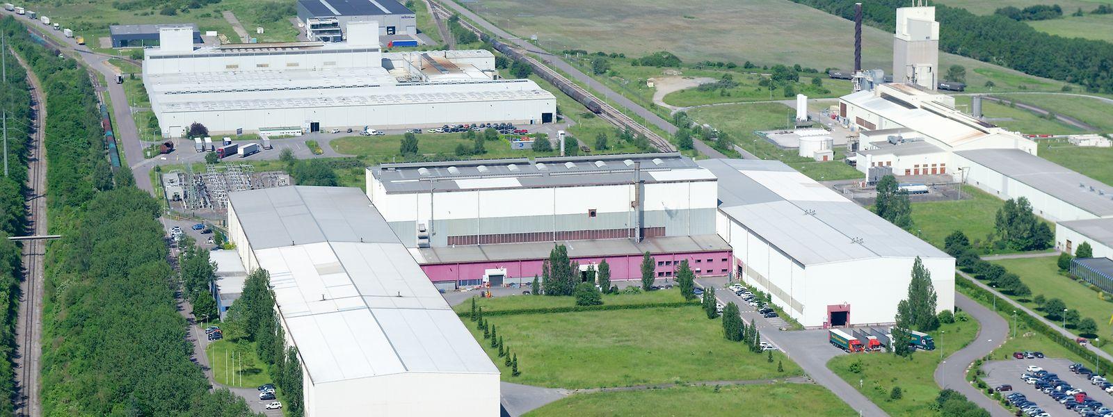Im Düdelinger Werk sind etwa 300 Mitarbeiter beschäftigt.
