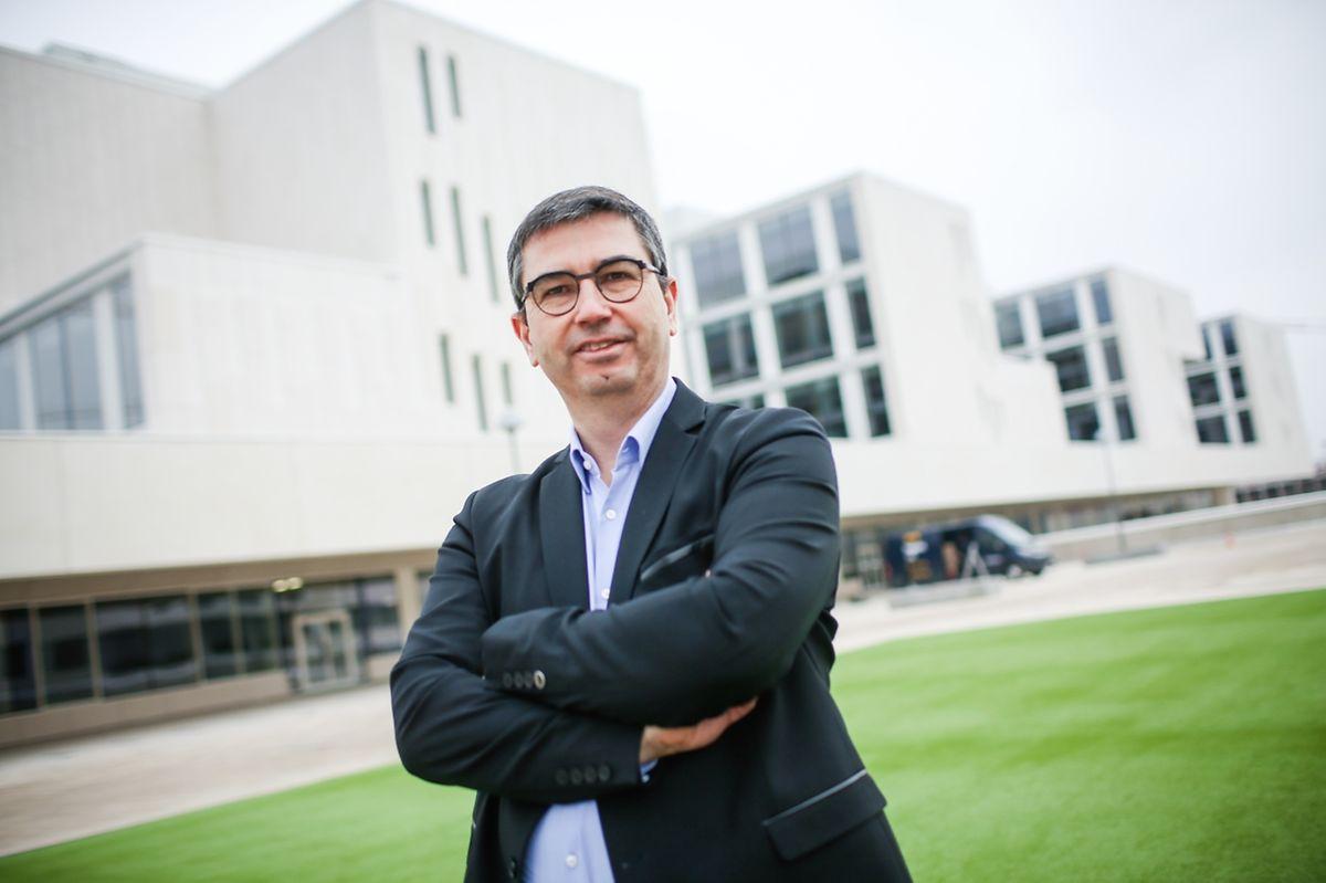 """""""D'après l'étude de mobilité, nous pensons que 60% des élèves du campus vont venir en transports en commun, 5% vont venir à vélo et 35% en voiture"""", déclare Bruno Lorrain, directeur exécutif."""