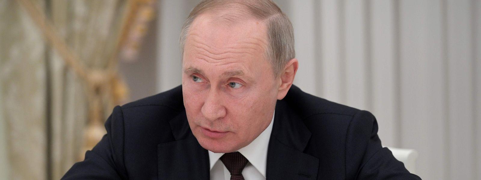 Vladimir Poutine a indiqué ce mardi qu'une de ses filles s'était fait inoculer le vaccin.
