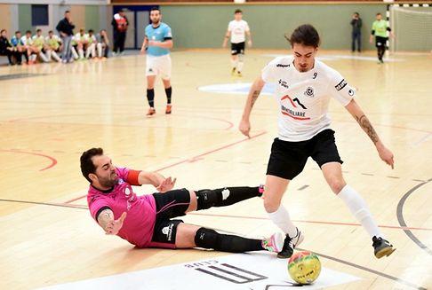 Futsal / Demi-finales aller des play-offs: L\'ALSS Münsbach frappe d\'entrée
