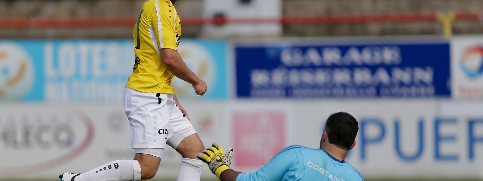Dominik Stolz bereut seinen Wechsel nach Luxemburg nicht.