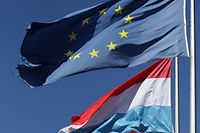 Lokales, Foto: Drapeaux, Flaggen, Drapeau, Flagge, Flag, Europe, Europa. Chris Karaba/Luxemburger Wort