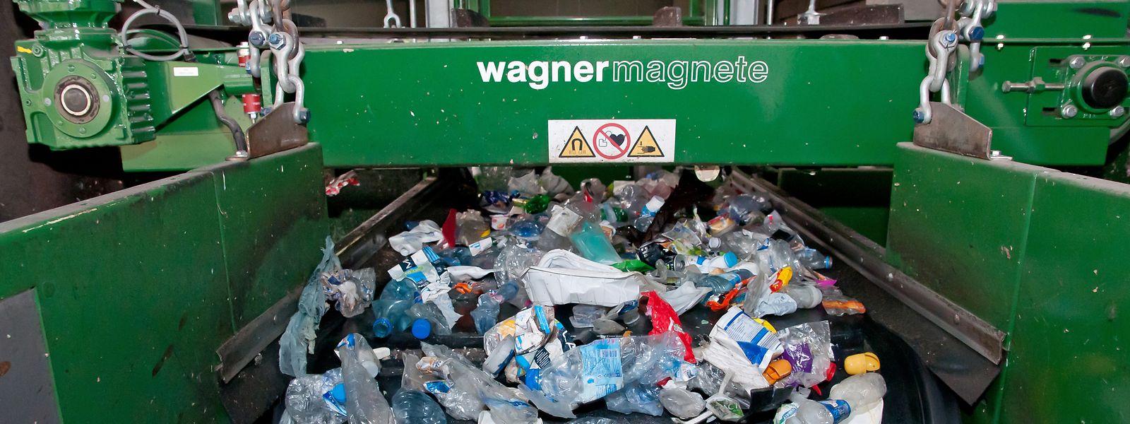 L'année dernière, 9.209 tonnes de déchets d'emballages ont été collectées au Luxembourg via les sacs bleus.