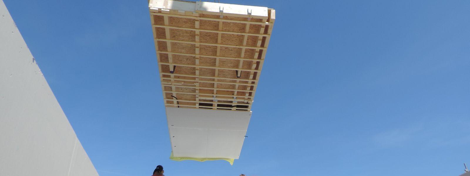 """Bei dem Pilotprojekt in Wiltz testete Heliosmart seine selbstentwickelte """"zirkuläre"""" Bauweise."""