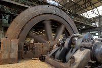 12.5. Differdingen / Arcelor Mittal / Groussgasmaschinn Foto:Guy Jallay