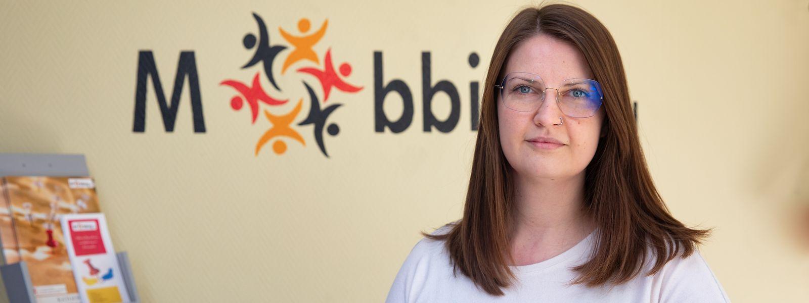 Magdalena Mida, directrice de Mobbing asbl, plaide pour la mise en place d'une loi basée sur «la prévention, la protection, la réglementation et des sanctions».
