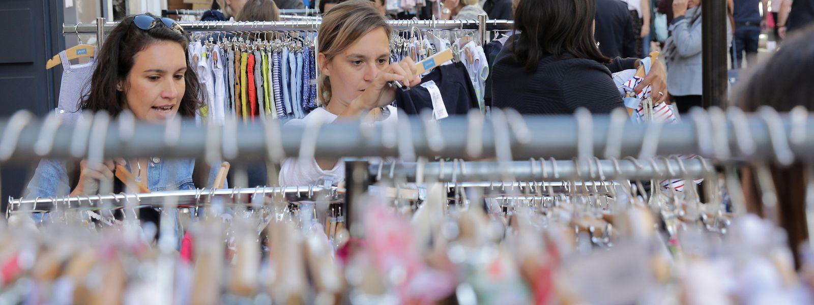 La braderie de Luxembourg reste un rendez-vous incontournable pour les commerçants de la capitale.
