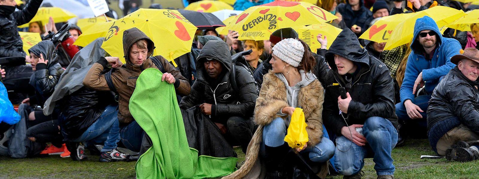 Ce week-end, 101 petites manifestations ont été organisées en Belgique pour sauver le climat.