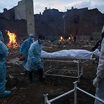 Covid-19. Índia com quase quatro mil mortos e 414.188 casos em 24 horas