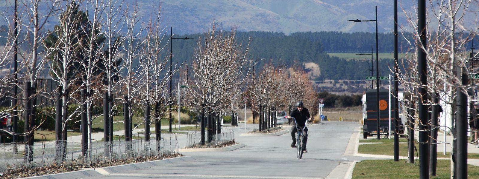 Auf den Straßen von Wanaka, einer kleinen Stadt im Queenstown-Lakes District der Region Otago auf der Südinsel von Neuseeland, war während des Lockdowns kaum etwas los.