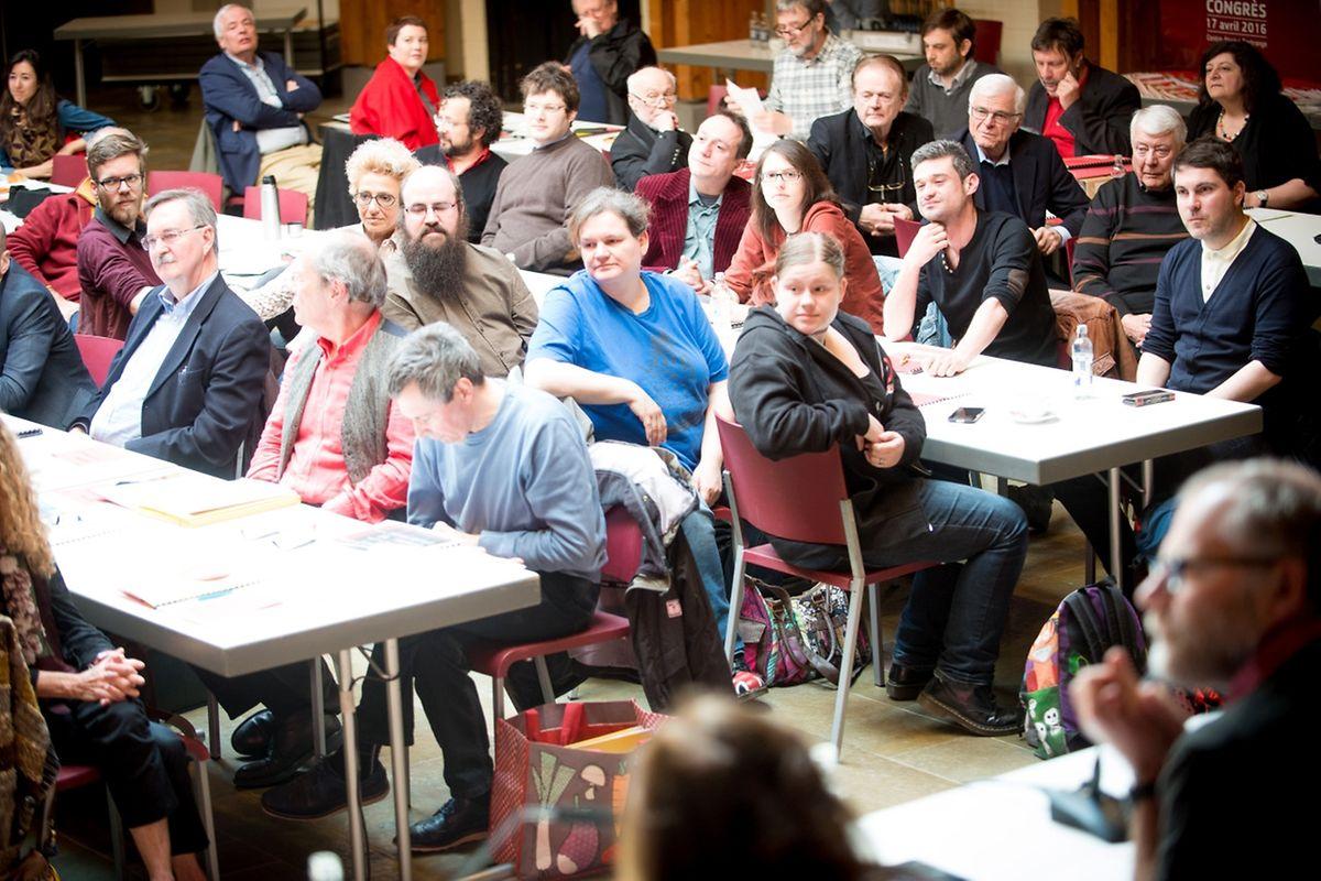 Déi Lénk haben am Sonntag zum Nationalkongress ins Centre Atert in Bartringen eingeladen.