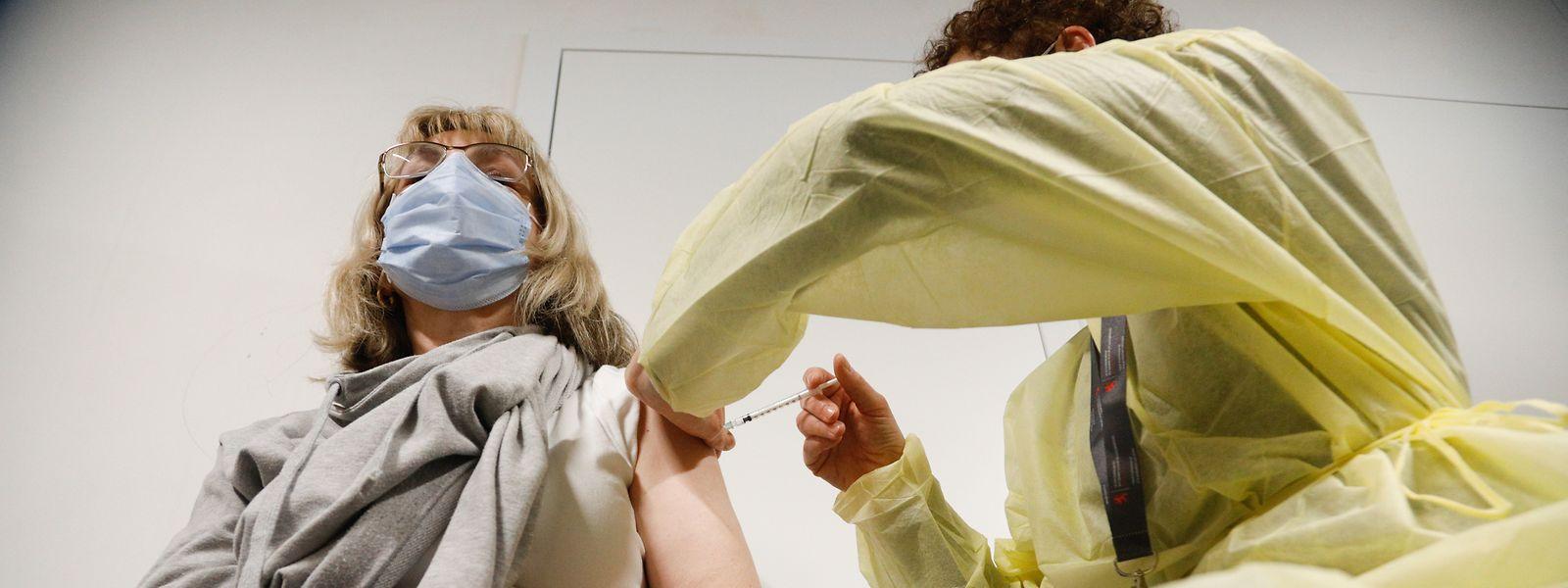 Ouvert depuis lundi, le centre de vaccination n'a administré qu'une centaine de doses par jour de fonctionnement. On est loin de tourner à plein régime.