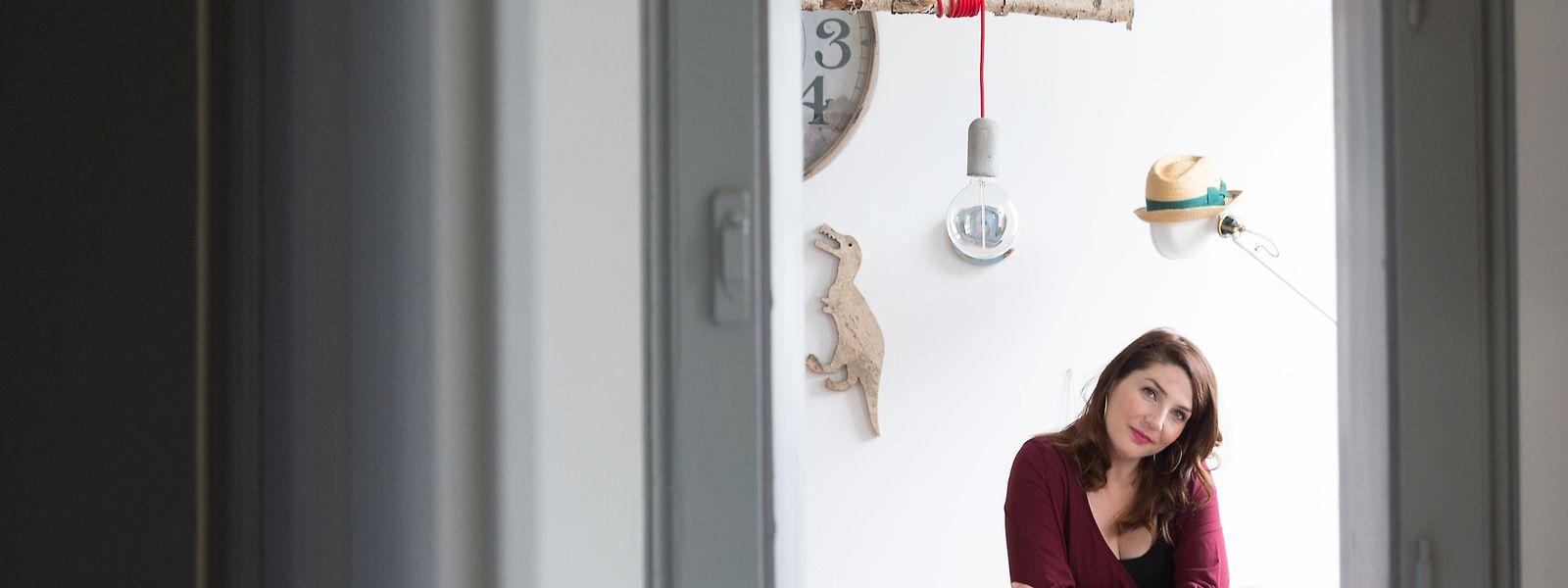Lehrerin Valérie Bosseler gewährt uns einen Einblick in ihr kunstvoll dekoriertes Reich.