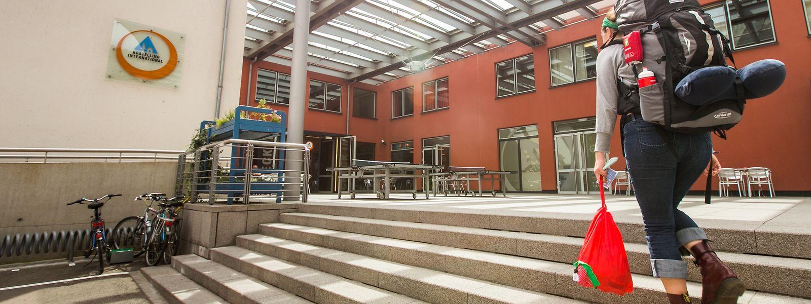 Jugendherbergen sind immer auch ein Ort der Begegnung. Mit ihren 240 Betten ist jene in Luxemburg-Stadt die größte des Landes.