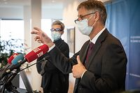 IPO,PK Fichiers de la police grand-ducale,Henri Kox,Sam Tanson. Foto: Gerry Huberty/Luxemburger Wort