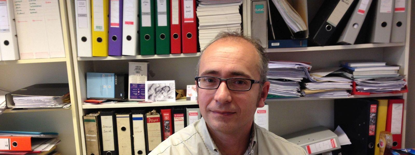"""""""In Ankara herrscht ein Klima der Autozensur"""", so EFJ-Chef Ricardo Gutiérrez."""