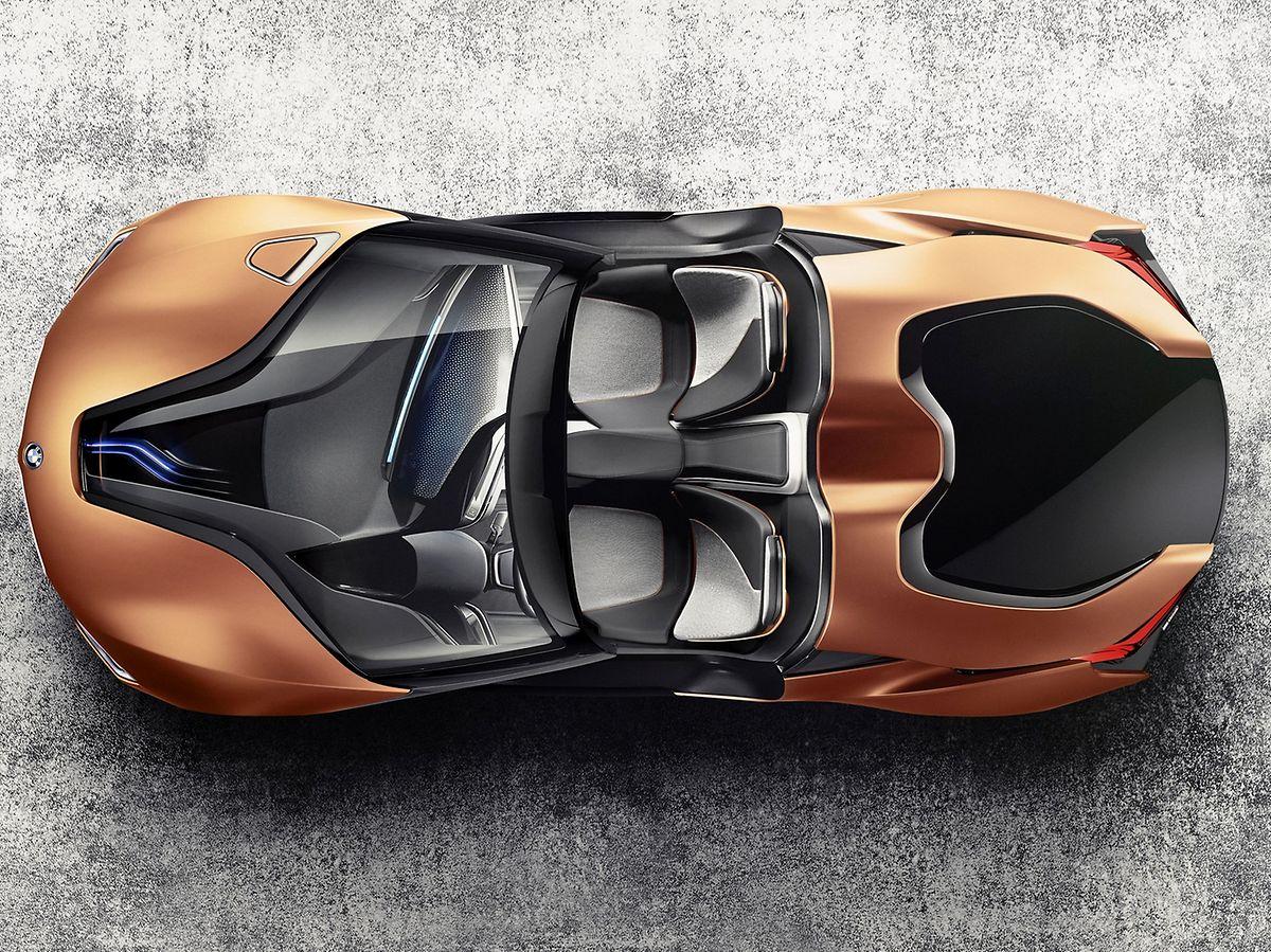 Zukunftsvision aus München: Der Anfang Januar auf der CES in Las Vegas vorgestellte BMW i Vision Future Interaction gibt Ausblick auf das vernetzte Cockpit und das User-Interface der Zukunft.