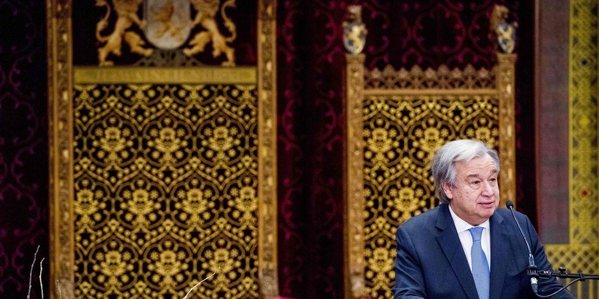 O secretário-geral das Nações Unidas, António Guterres, iniciou o seu mandato há um ano
