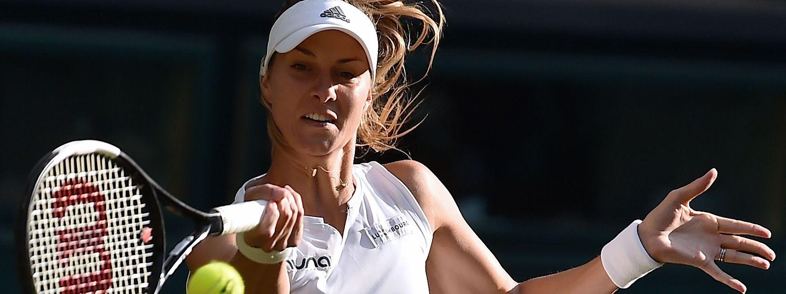 Mandy Minella scheiterte zuletzt in Wimbledon in Runde eins.