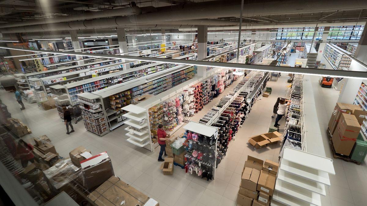 Die Auchan-Gruppe eröffnet in Differdingen ein zweites Supermarkt in Luxemburg.