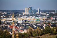 Wachstum,Logement,Habitation,Wohnungsbau.Finanzplatz,Kirchberg.Foto:Gerry Huberty