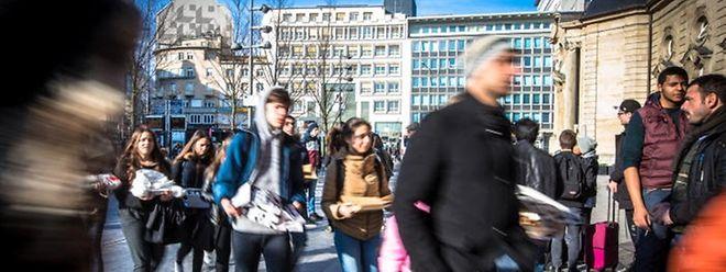 46 Prozent der Bevölkerung in Luxemburg sind Ausländer.
