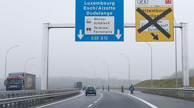 A13 Hellingen wird viersuprig - Vorbericht, Hellange, le 15 Decembre 2016. Photo: Chris Karaba