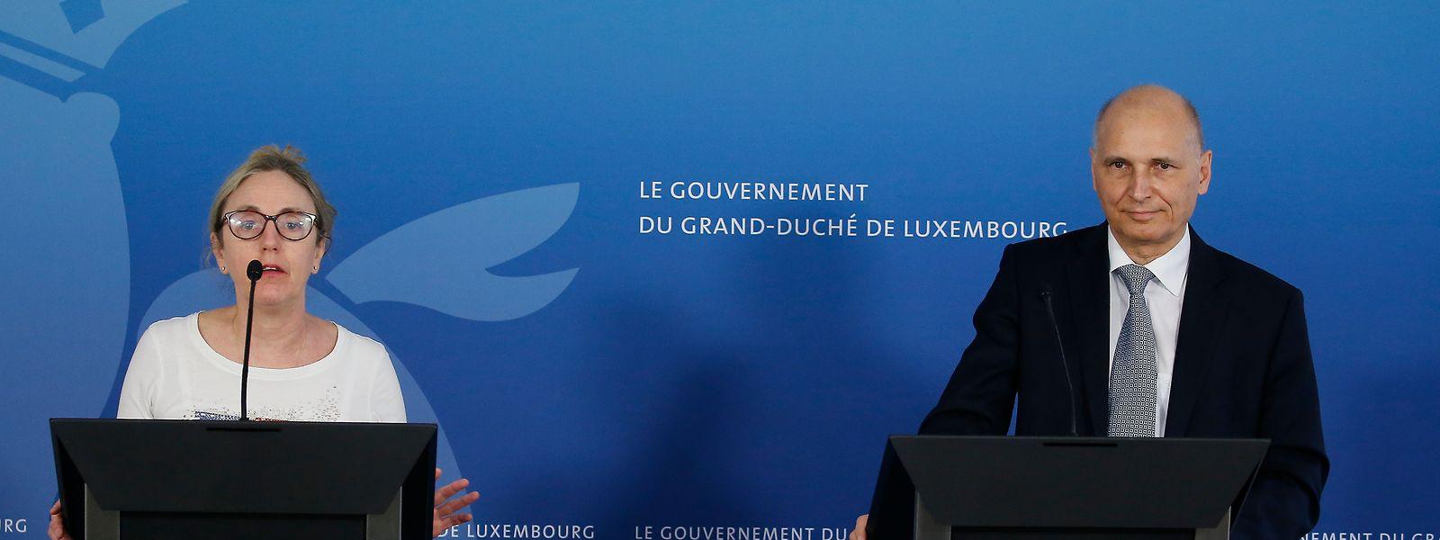 Thérèse Staub et Romain Nati ont livré les premiers détails de la participation luxembourgeoise à l'étude Discovery