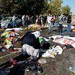 Die Attentäter haben ein Blutbad unter den regierungskritischen Demonstranten angerichtet.