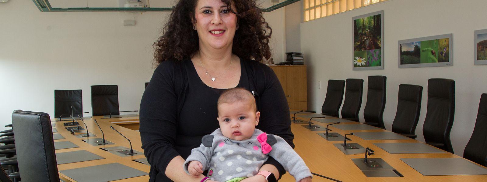 Ihr Baby für die politische Selbstverwirklichung hinten anzustellen, kam für Déi-Gréng-Politikerin Laura Pregno nicht infrage.