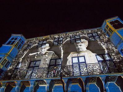 125 Joer Dynastie / 125 Ans Dynastie / Fam. Grand-ducale / 2016 / Luxembourg / Photo: Blum L.Light Show