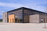 Die ausgezeichnete Schule in Hamm.