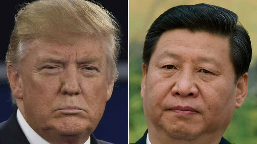 Chinas Präsident Xi Jinping bot Donald Trump eine Zusammenarbeit an.