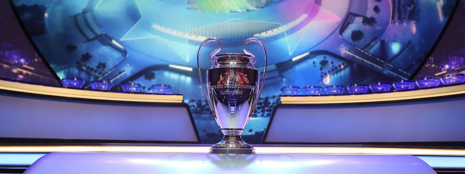 Die Champions-League-Trophäe.