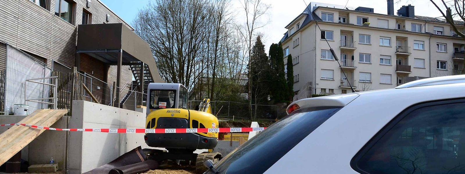 Le dramatique accident du travail s'est produit sur un chantier situé rue de l'Avenir.